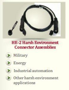 HE-2 Harsh Environment Connector Assemblies